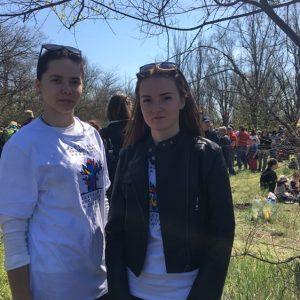 Участь студентів в екологічній акції «Відроди Хортицю»
