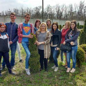 Ознайомча екскурсія для студентів-ландшафтників