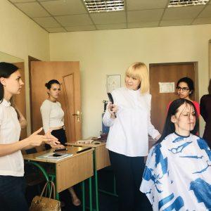 Тренінг для студентів-перукарів