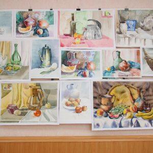 Виставка робіт студентів-першокурсників