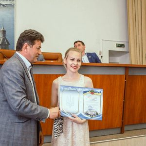 Студентів до дня молоді нагородив міський голова