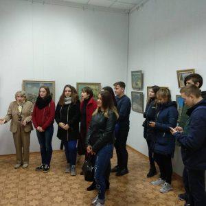 Ознайомча екскурсія в Художньому музеї