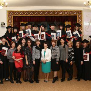 Вручення дипломів першим випускникам 2019 року Хортицької національної академії!