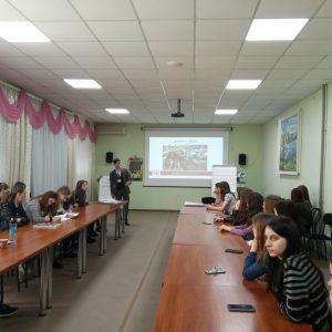 Зустріч  Запорізької обласної організації Товариства Червного Хреста України зі студентами академії