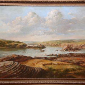Відновлено найдавніше живописне зображення Хортиці