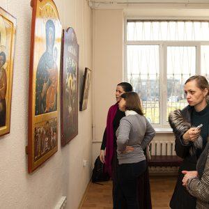Виставка іконопису викладачів та студентів Львівської національної академії мистецтв