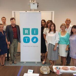 Стажування і перший етап міжнародного проєкту «Програма RITA – зміни в регіоні»
