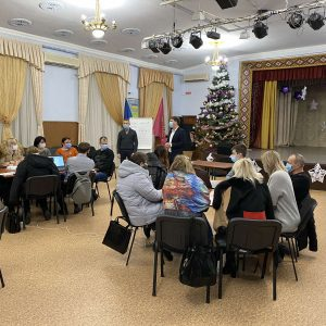 22 грудня, на базі Хортицької національної академії, відбувся тренінг з написання проєктних заявок