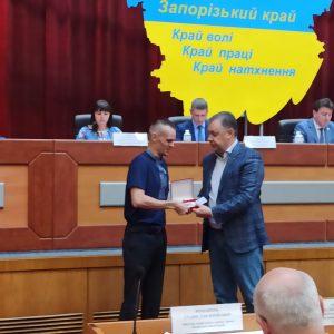 Орденом «За заслуги перед Запорізьким краєм» ІІІ ступеня нагороджений Маврін Віталій Володимирович